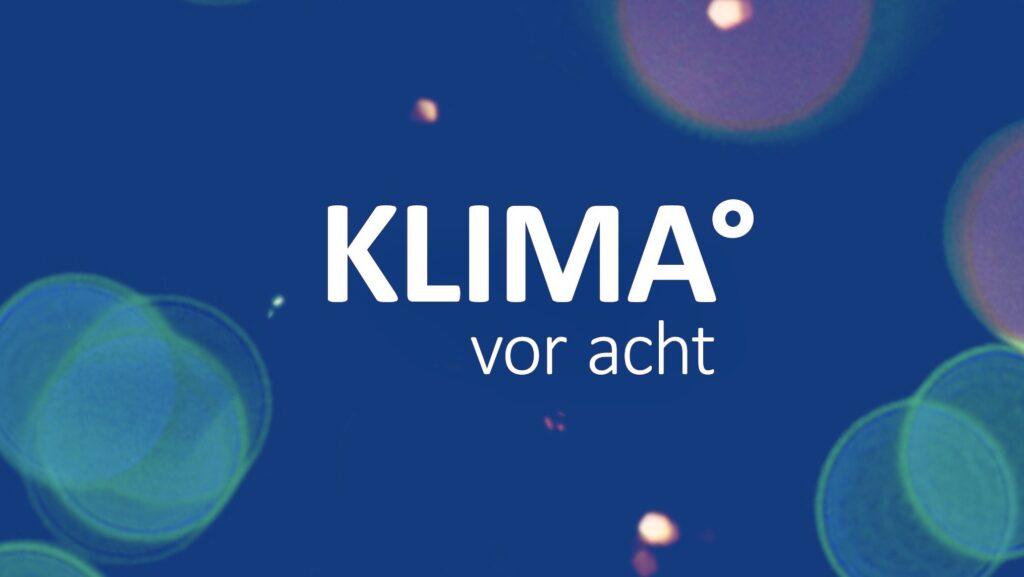 SharePic, um die Idee von KLIMA° vor acht zu verbreiten